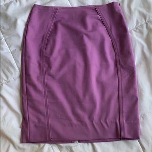 Purple White House Black Market Pencil Skirt